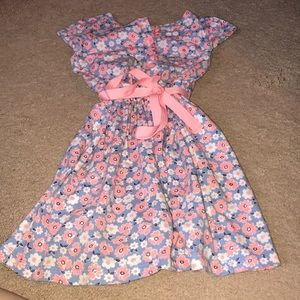 Carters S4 floral cotton dress
